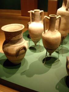 Greek Amphora's at the Ringling Museum of Art