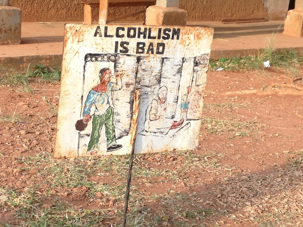 Alcoholism is bad