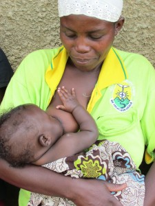Ugandan breast feeding