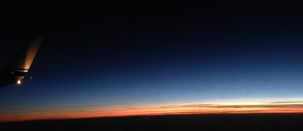 Sunset at 30,000 Feet (2)
