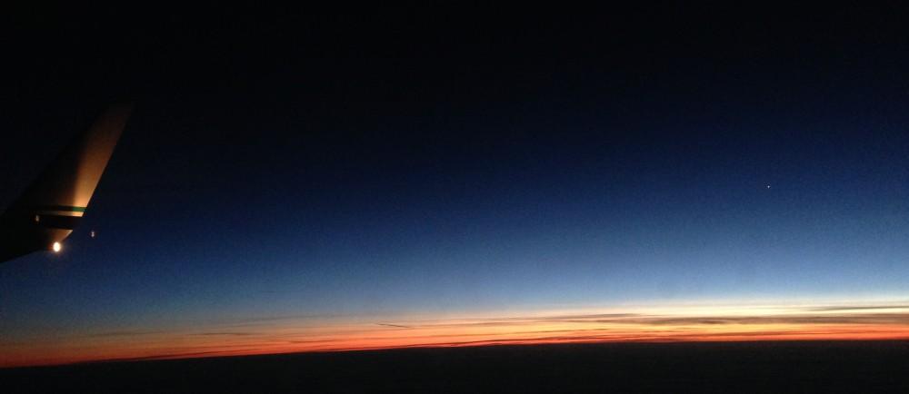 Sunset at 30,000 Feet (2)